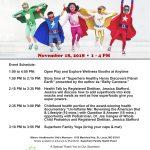 Superhero Family Health Event & Contest – November 18